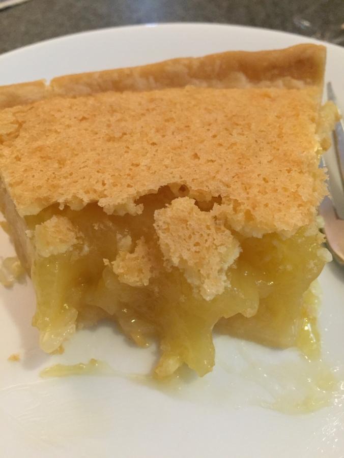 inside pie