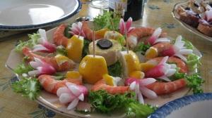 shrimp and truffles