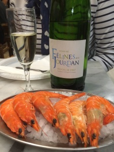 shrimp with Fanny