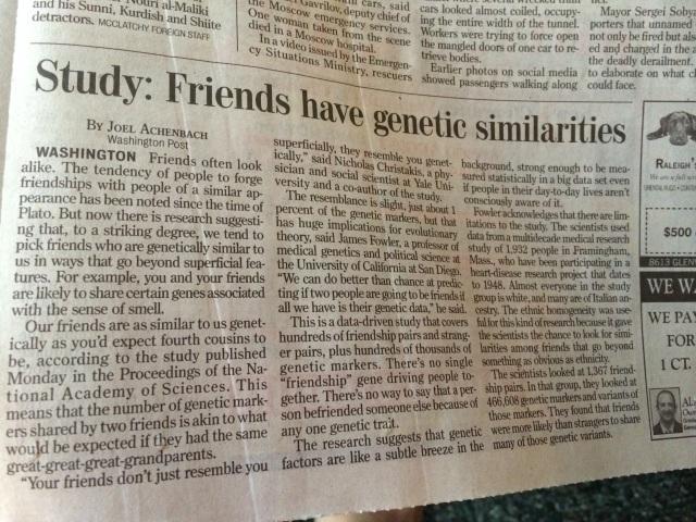 friends have genetic sim