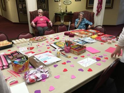 making-valentines