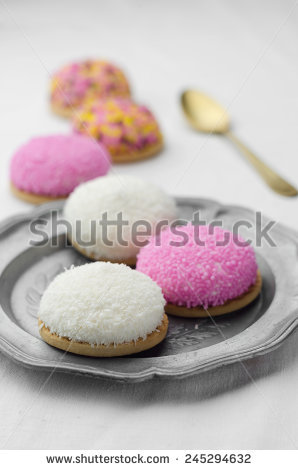 stock-photo-coconut-and-colorful-marshmallow-cookies-245294632