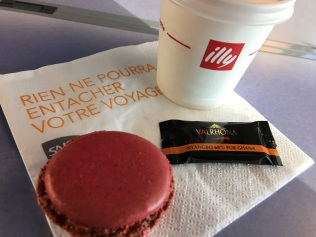 dining car coffee