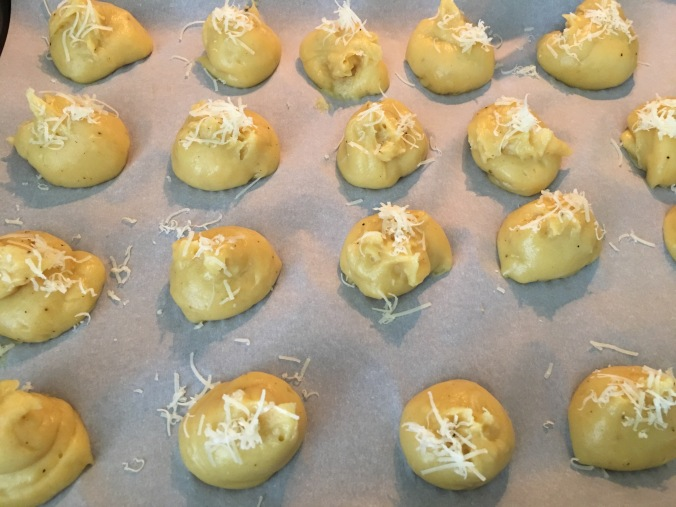gougeres pastry