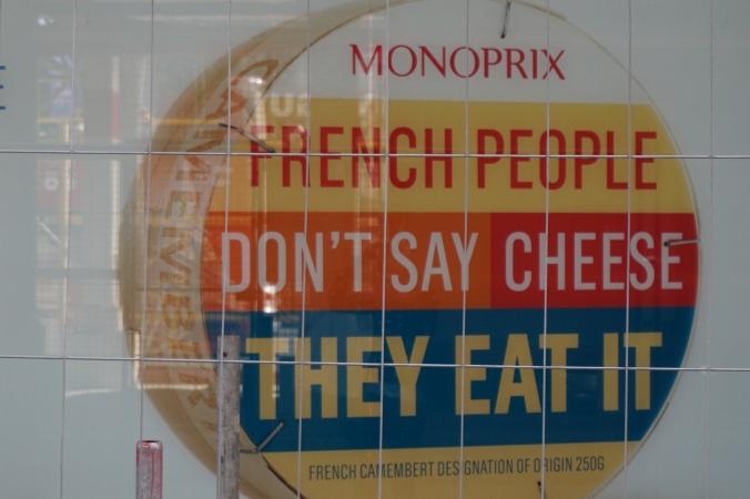 monoprix cheese