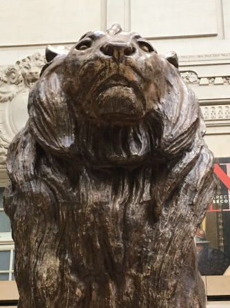 orsay lion up close