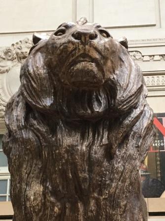 orsay lion up close