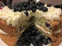 bleuberry cake