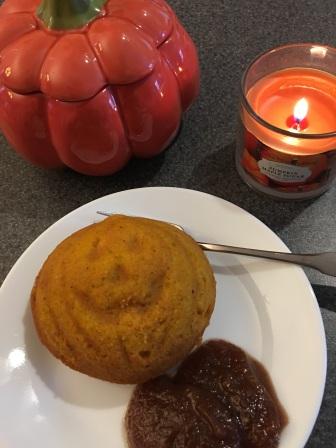 pumpkin muffin face