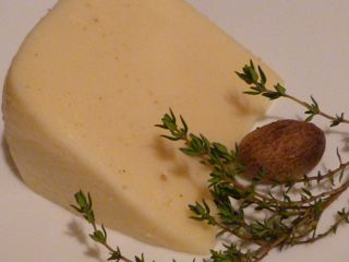 cheese thyme nutmeg