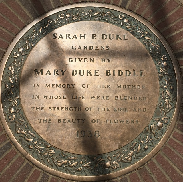 duke plaque