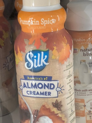 almond creamer